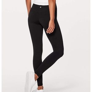 LULULEMON Black High Waist Leggings Pants